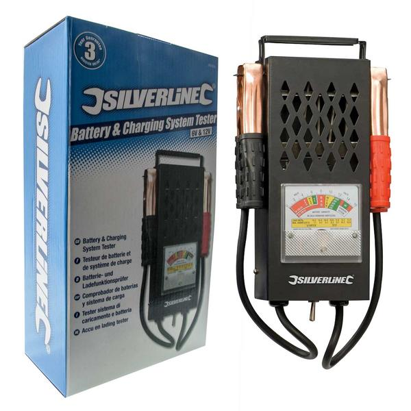 Silverline 282625 Battery & Charging System Tester Thumbnail 1