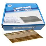 Silverline 371758 Galvanised Ring Nails 2500pk 90 x 3.1mm