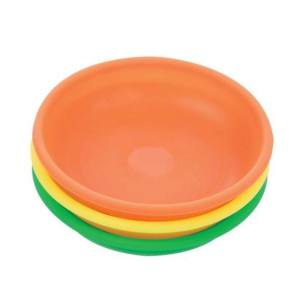 Silverline 379878 Hi-Vis Magnetic Bowls 3pce Thumbnail 1