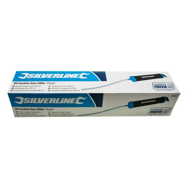 Silverline 380451 Oil Suction Syringe Gun Extractor Thumbnail 4