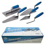 Silverline 395016 Soft-Grip Trade Trowel Set (5 Piece)