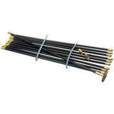 Draper 23540 DR Drain Rod Set With Brass Fittings