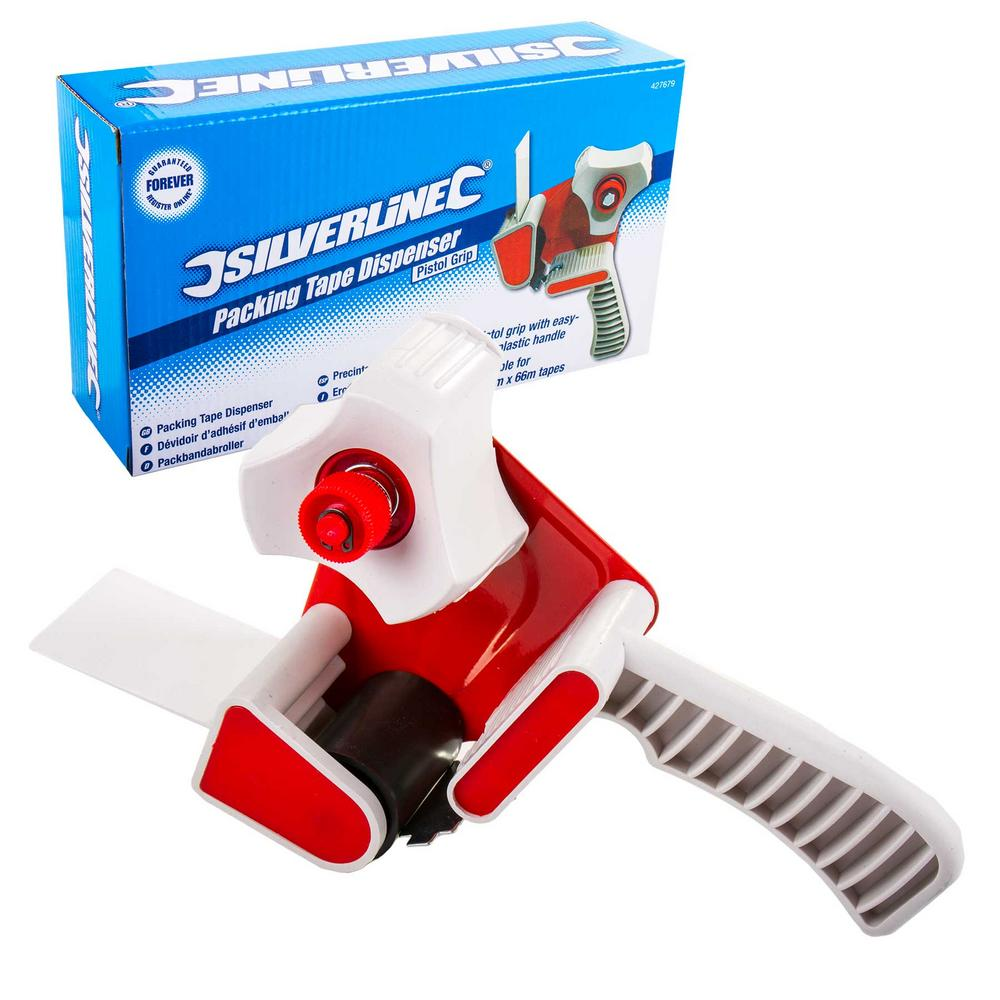 Silverline 427679 Packing Tape Dispenser