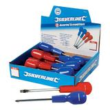 Silverline 583253 Assorted Screwdriver Display Box 18pce