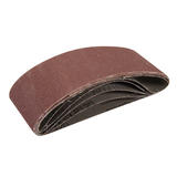 Silverline 631839 Sanding Belts 60mm x 400mm 5pk 120 Grit