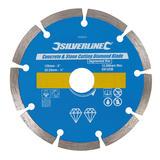 Silverline 633624 Concrete & Stone Cutting Diamond Blade 125 x 22.2mm