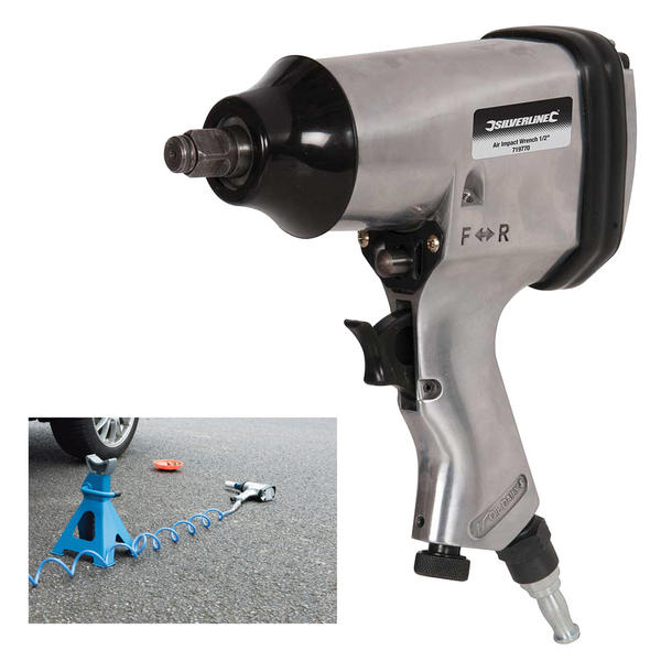 "Silverline 719770 Air Impact Wrench 1/2"" Thumbnail 1"