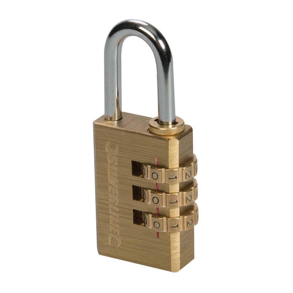 Silverline padlock - YouTube
