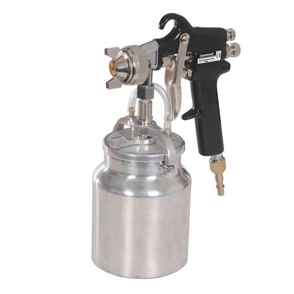 Silverline 763556 Spray Gun High Pressure Thumbnail 1