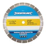 Silverline 763574 Sandstone Cutting Diamond Blade 300 x 20mm Segmented Rim