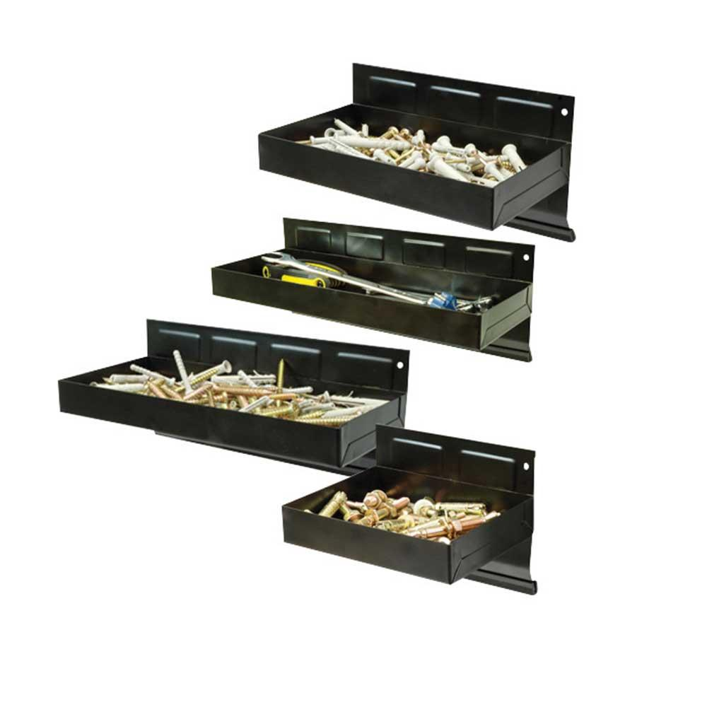 Silverline 868873 Magnetic Tool Tray Set 4pce