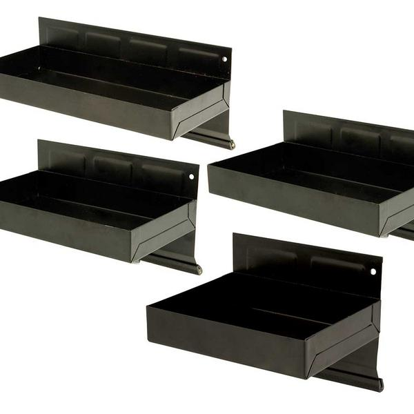 Silverline 868873 Magnetic Tool Tray Set 4pce Thumbnail 2