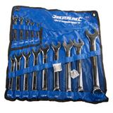 Silverline SP52 AF/Imperial Spanner Set 14 Piece