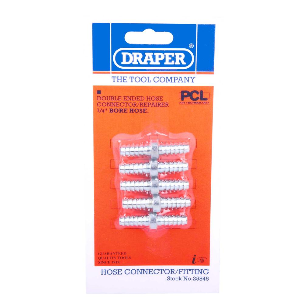 Draper 25845 A2983 5 X 14 Inch Bore Hose Connector Repair pack of 5