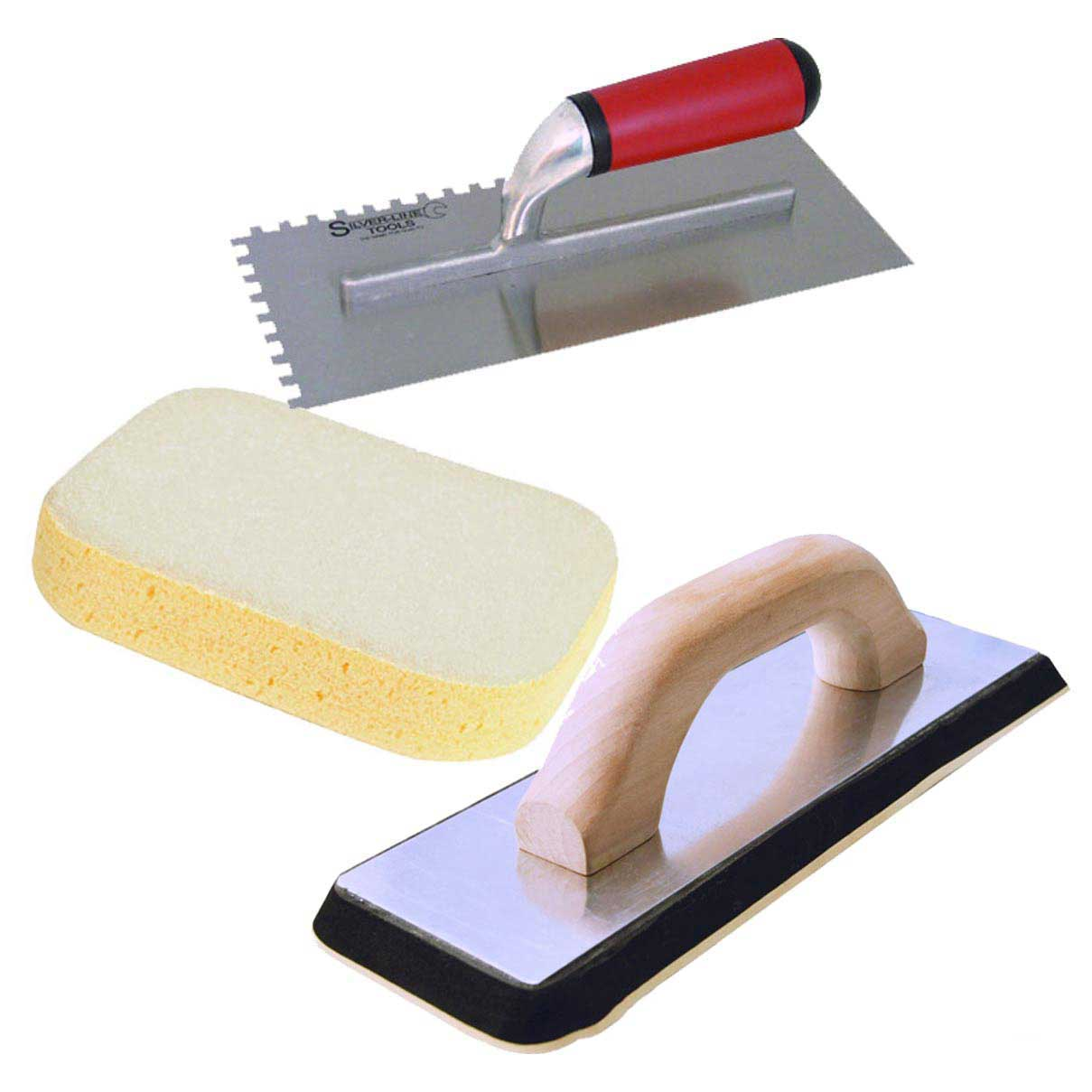 Tilers Tool Kit Grout Float Tile Tiling Sponge Amp Trowel