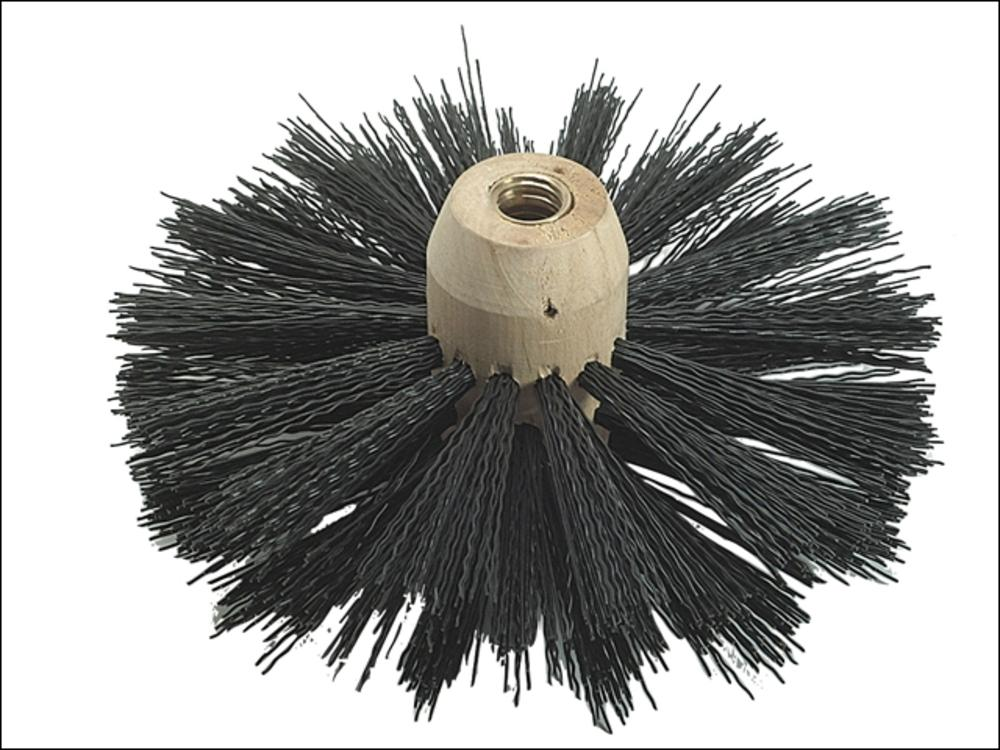 Bailey 1847 Universal Woodstock Chimney And Flue Brush 6in