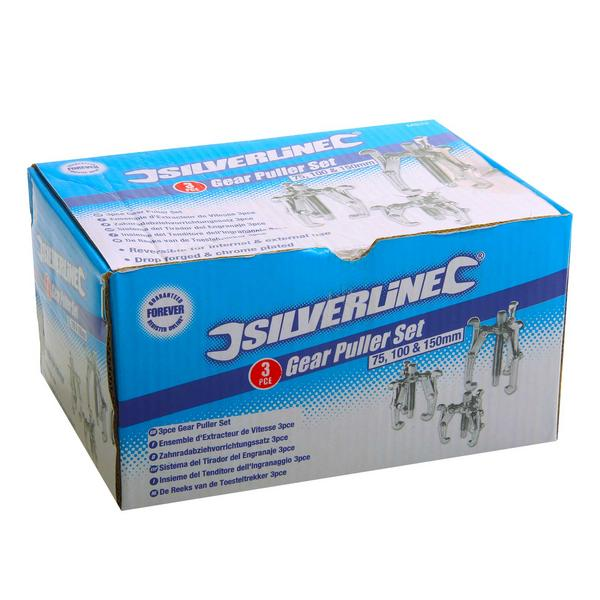 Silverline Ms23 3 Piece Bearing And Gear Puller Set Thumbnail 2