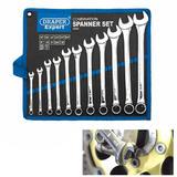 Draper Expert 29546 822011AF 11Pc AF Imperial Combination Spanner Set