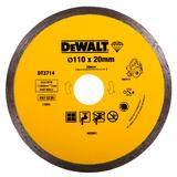 DeWalt Diamond Tile Cutting Blade 110mm x 20mm to fit the GMC Wet Stone Cutter