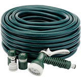 Draper 56447 GH2/GW16 30M Garden Green Hose Starter Kit
