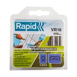 Rapid VR16 40108796 Fence Hog Rings Pack of 400 Galvanised