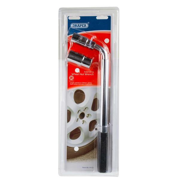 Draper 19152 Wm1719 Extending 17,19,21,22mm Wheel Nut Wrench Thumbnail 7