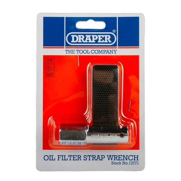 Draper 13771 256 1/2 Square Drive Oil Filter Strap Wrench Thumbnail 4