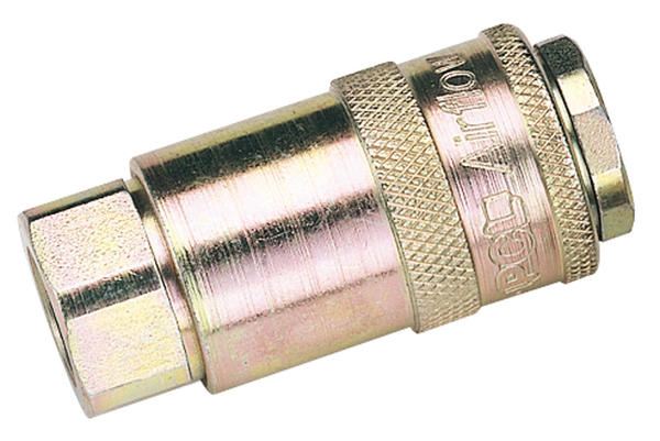 Draper 37827 1/4 BSP Parallel Female Air Tools Coupling Thumbnail 1