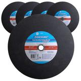 5 x Silverline 103622 Professional Metal Cutting Discs Flat