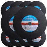 10 x Silverline 103622 Professional Metal Cutting Discs Flat