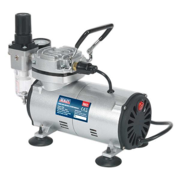 Sealey AB900 Mini Air Brush Compressor Thumbnail 3