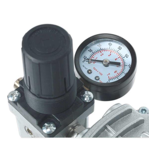 Sealey AB900 Mini Air Brush Compressor Thumbnail 2