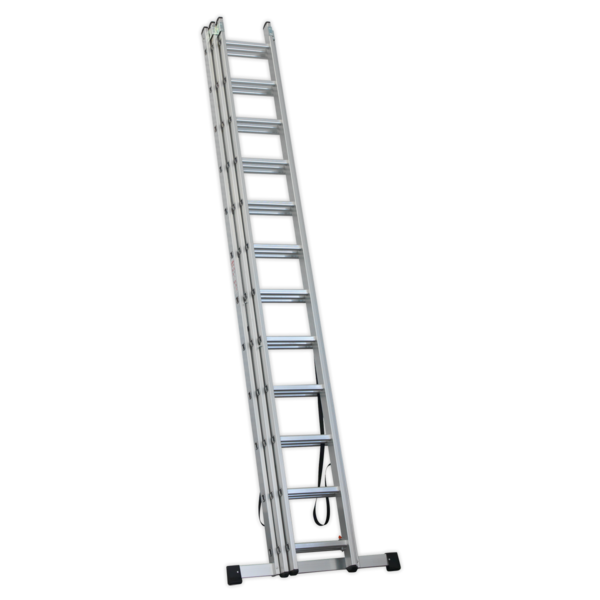 Sealey ACL312 Aluminium Extension Combination Ladder 3x12 EN 131  Thumbnail 3