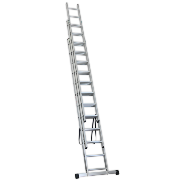 Sealey ACL312 Aluminium Extension Combination Ladder 3x12 EN 131  Thumbnail 2