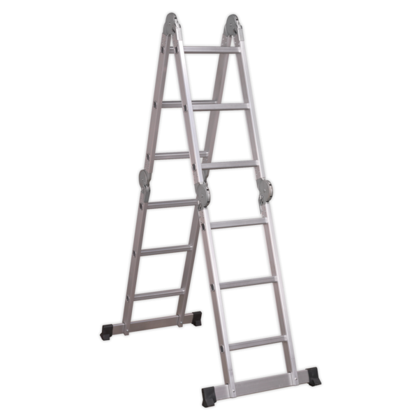 Sealey Aluminium Folding Platform Ladder 4-Way EN 131 Thumbnail 2