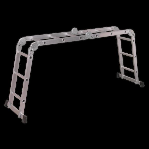 Sealey Aluminium Folding Platform Ladder 4-Way EN 131 Thumbnail 4