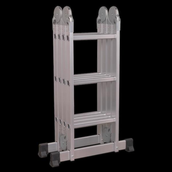 Sealey Aluminium Folding Platform Ladder 4-Way EN 131 Thumbnail 3