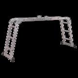 Sealey Aluminium Folding Platform Ladder 4-Way EN 131