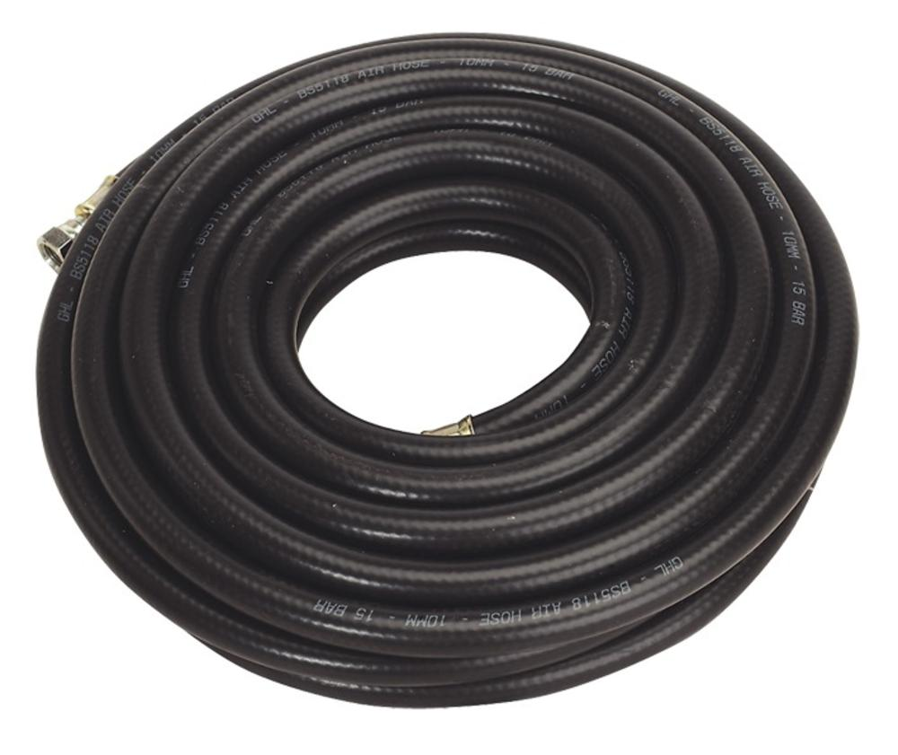 "Sealey Air Hose 10mtr x Ø10mm with 1/4"" BSP Unions Heavy-Duty"