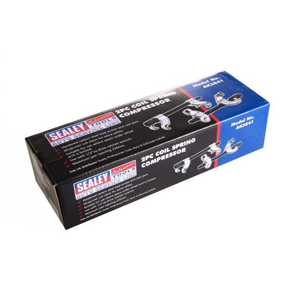 Sealey AK3841 Coil Spring Compressor Set 2pc Thumbnail 6