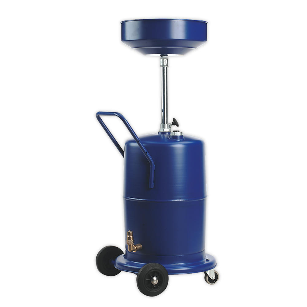 Sealey AK450DX Mobile Oil Drainer 75 Litre Pump Away