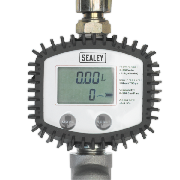 Sealey AK4565D Oil Hose End Gun with Digital Meter Thumbnail 2