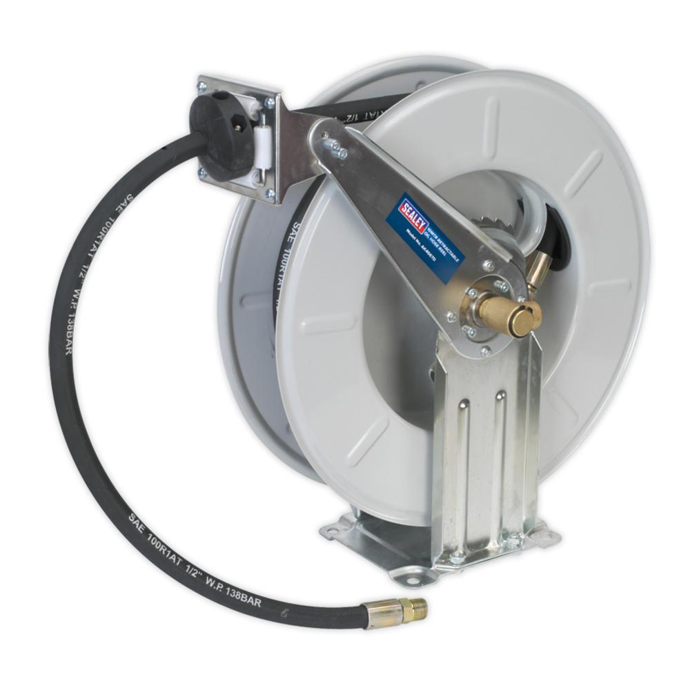 Sealey AK4567D Oil Hose Reel Retractable 10 Metre