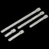 """Sealey AK6331 Extension Bar Set 5pc 1/4""""Sq Drive"""