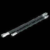 "Sealey AK7342 Flexible Extension Adaptor Set 2pc 1/4""Sq x 254mm & 3/8""Sq x 305mm"