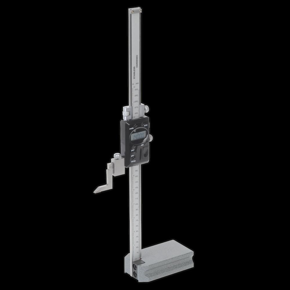 "Sealey AK9636D Digital Height Gauge 0-300mm/0-12"""