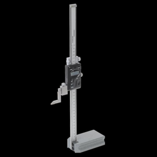 """Sealey AK9636D Digital Height Gauge 0-300mm/0-12""""  Thumbnail 1"""