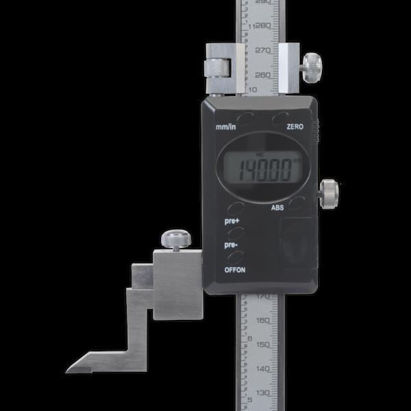 """Sealey AK9636D Digital Height Gauge 0-300mm/0-12""""  Thumbnail 2"""
