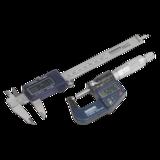 Sealey Digital Measuring Set 2pc