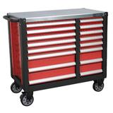 Sealey AP24216 Mobile Workstation 16 Drawer with Ball Bearing Slides